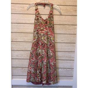 Ann Taylor Floral Midi Sundress  - Size 6